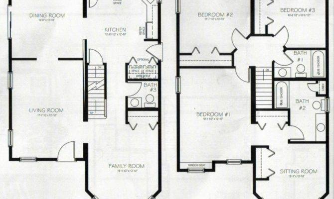 Inspiring 4 Bedroom And 3 Bathroom House 19 Photo House Plans