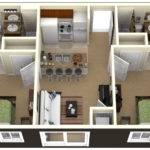 Bedrooms Simple House Designs Plan