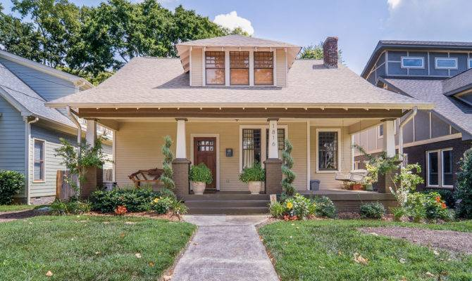 Beech Avenue Bungalow Style Homes Sale Nashville