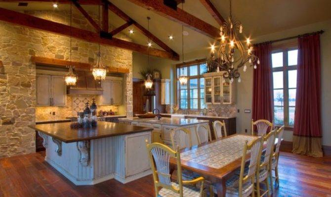 Before After Kitchen Remodel Texas Ranch Style Homes House Plans 120710