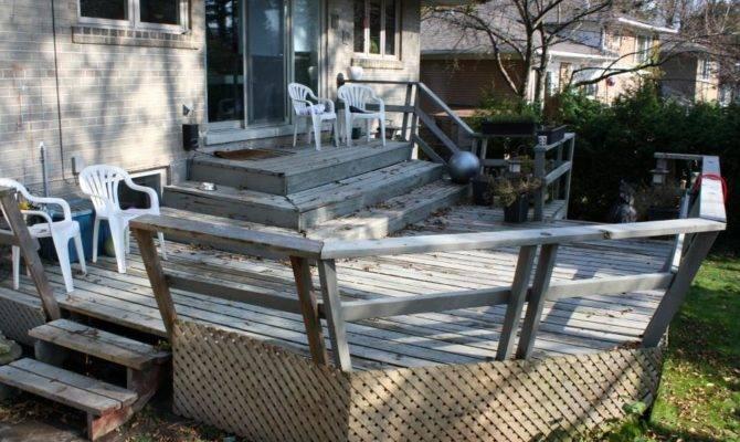 Before Afters Backyard Decks Patios Pergolas Diy