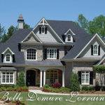 Belle Demure Lorraine House Plan Elegant European Manor