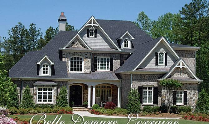 Belle Demure Lorraine House Plan Elegant European Manor