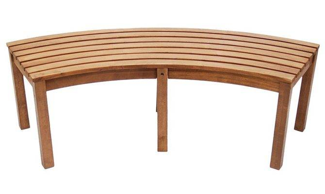 Bench Design Astounding Curved Outdoor Small