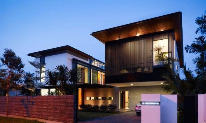 Berrima House Modern Tropical Look Dwelling Flat Roof