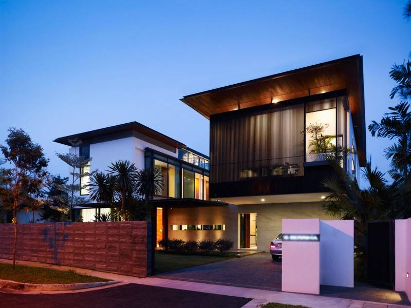 26 Delightful Modern Flat Roof House Designs House Plans