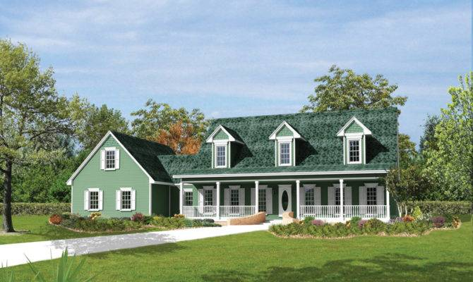 Berryridge Cape Cod Style Home Plan House