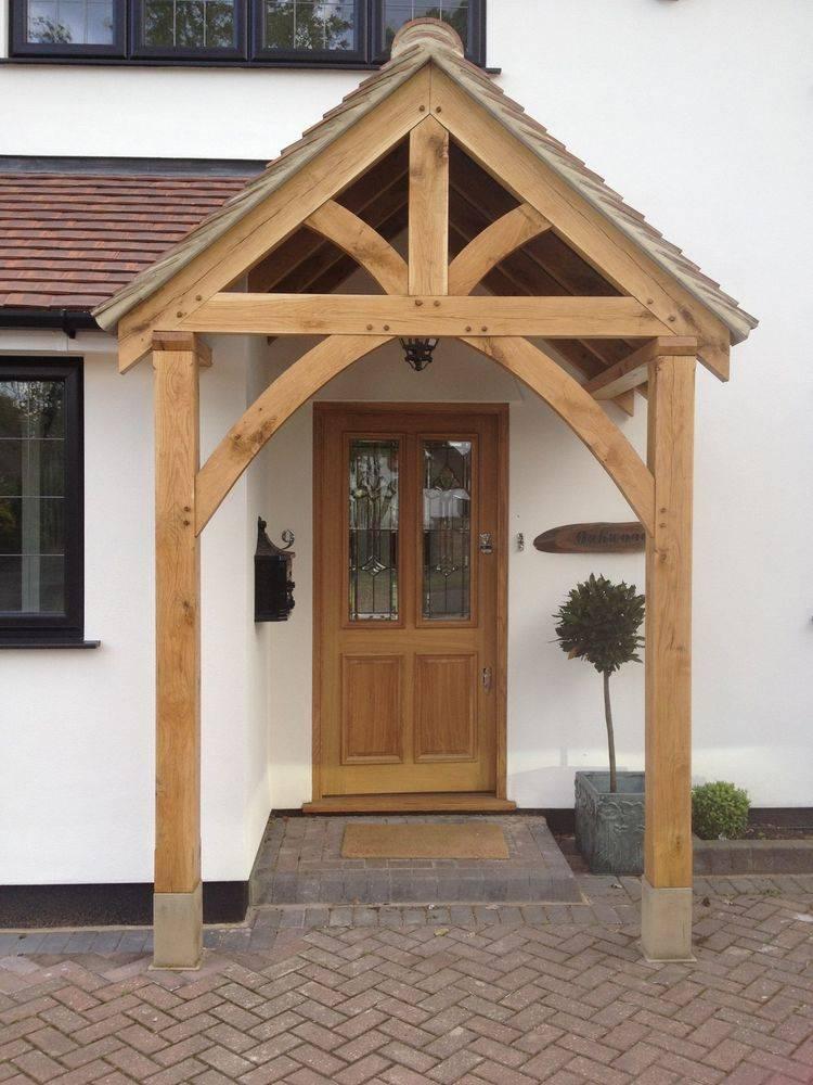Porch Front Door Canopy Handmade