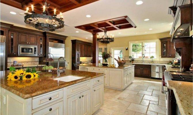 Best Application Large Kitchen Designs Ideas Interior House Plans 65599