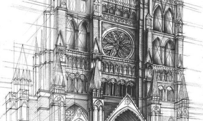 Best Architectural Sketch Drawing