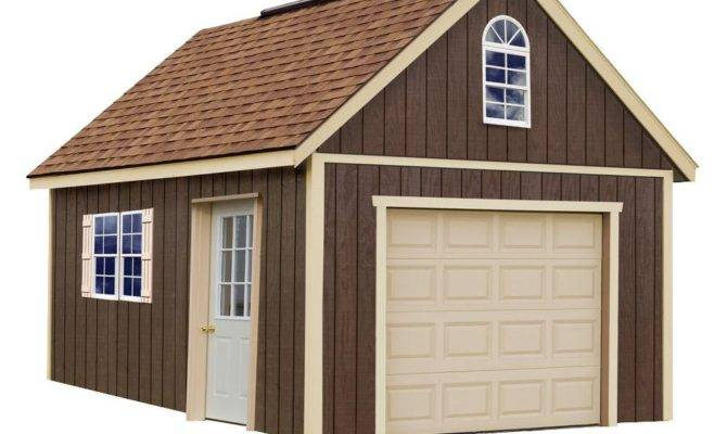 Best Barns Glenwood Wood Garage Shipping