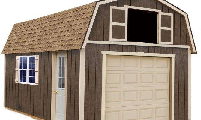 Best Barns Tahoe Wood Garage Kit Without