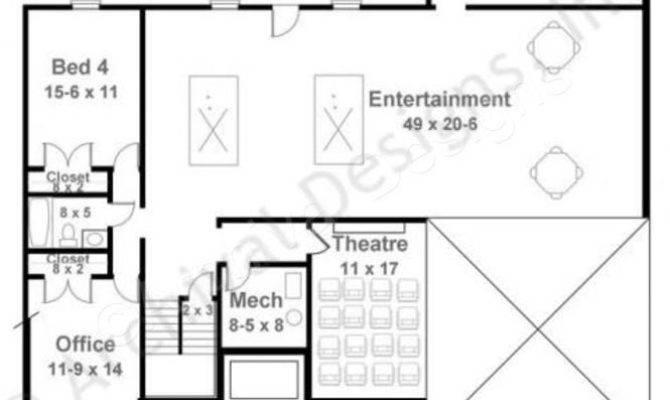Best Basement Floor Plans Ideas Pinterest