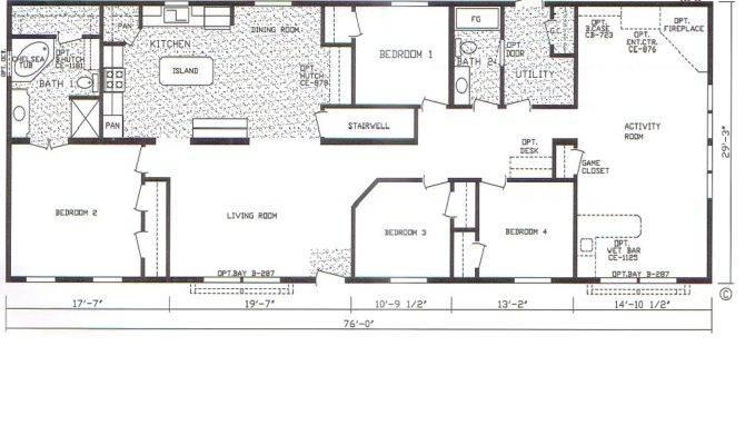 Best Bedroom Mobile Home Plans