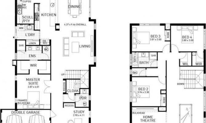 Best Double Storey House Plans Ideas Pinterest