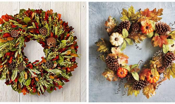 Best Fall Wreath Ideas Beautiful Front Door