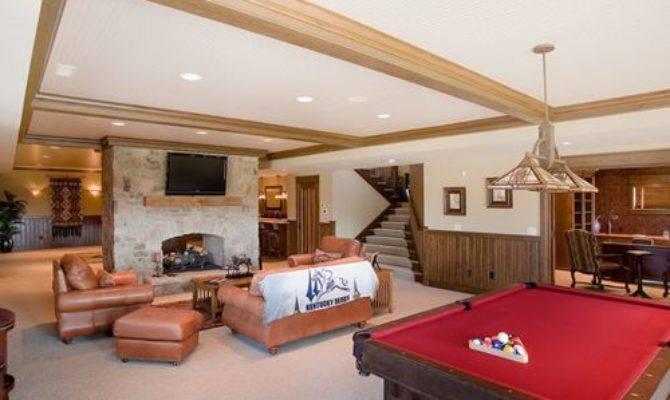 Best Farmhouse Split Level House Basement Design Ideas