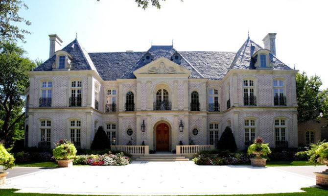 Best French Chateau Houzz House Grace