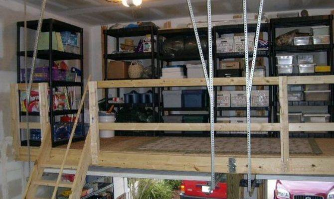 Best Garage Loft Ideas Pinterest Shop