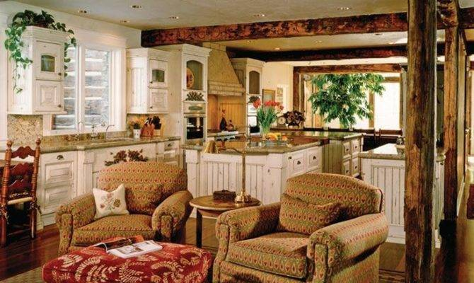 Best Hearth Room Off Kitchen Want One