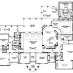 Best House Plans Bedroom Single Story Spanish