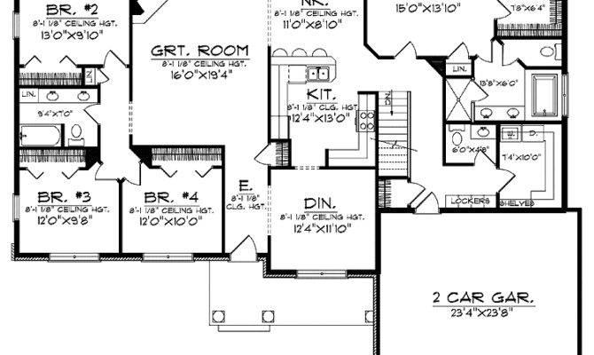 Best House Plans Families Homes Floor