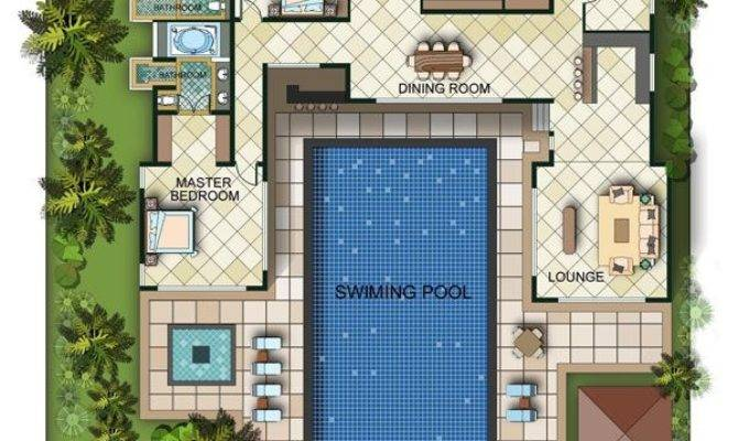 Best House Plans Pool Ideas Pinterest Sims