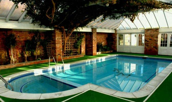 Best Indoor Pool House Designs Country Mansion