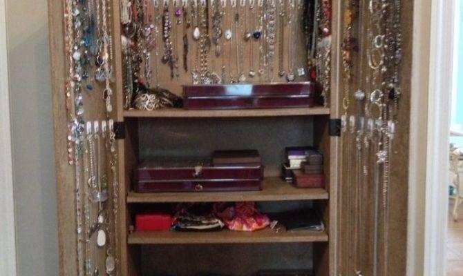 Best Jewelry Armoire Ideas Pinterest Diy