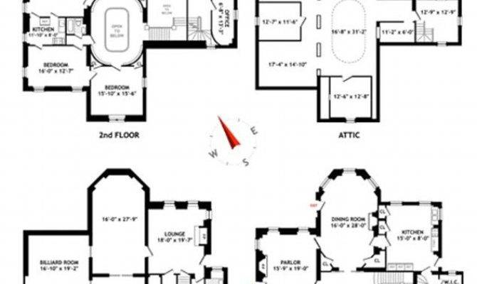 Best Mansion Floor Plans Ideas Pinterest House