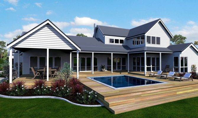 Best Modern Country Farmhouse House Plans
