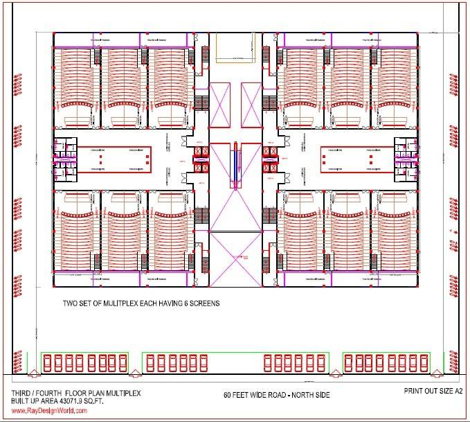 Best Multiplex Design Square Feet House Plans 104027