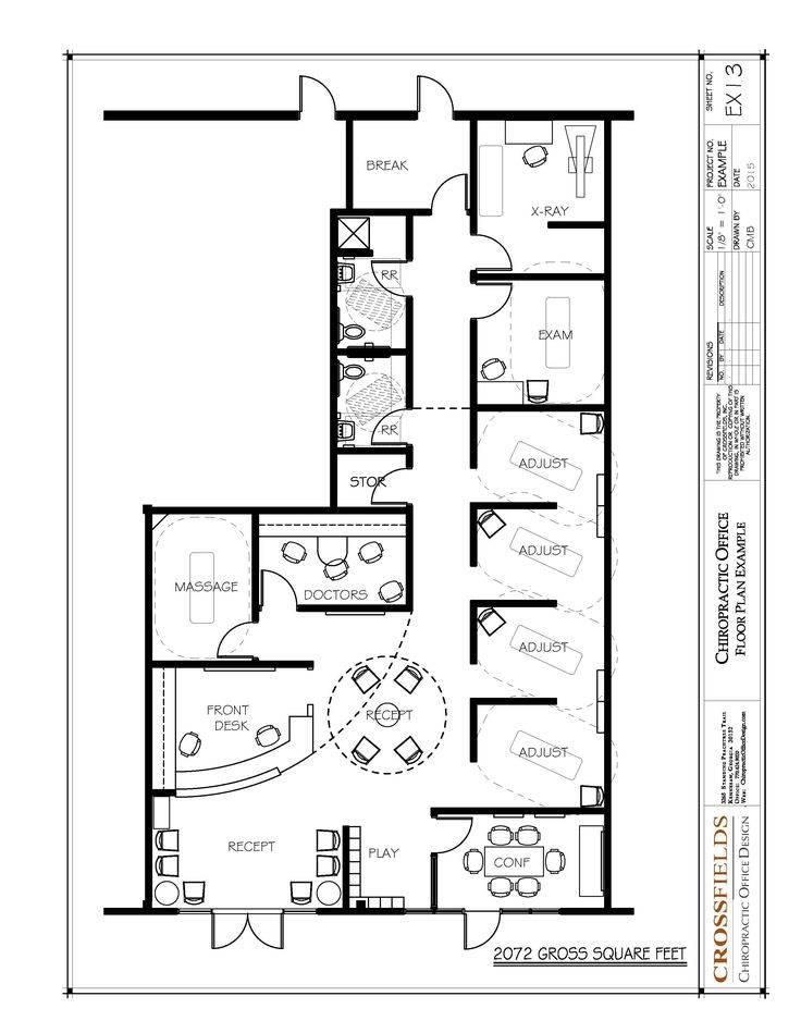 Chiropractic Office Floor Plans 60 Contemporary Designs