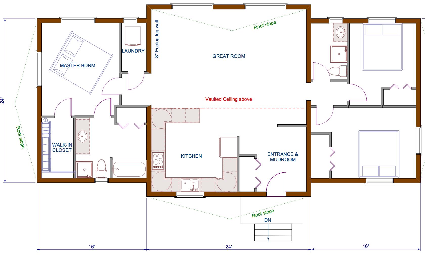 Best Open Floor House Plans Cottage House Plans 161030