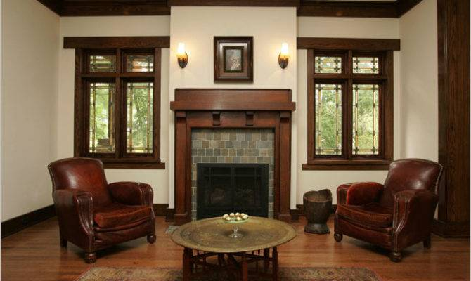 Best Prairie Style Fireplace Architecture Plans