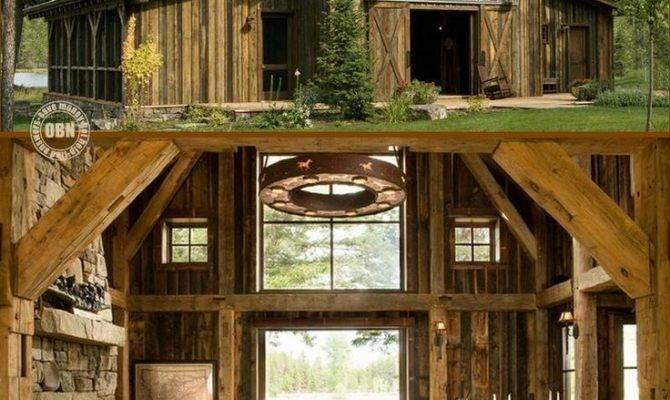Best Rustic Barn Homes Ideas Pinterest