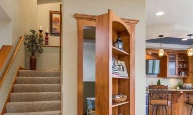 Best Secret Rooms Pinterest Doors