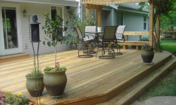 Best Simple Deck Ideas Pinterest Backyard