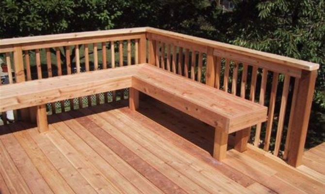 Best Simple Decking Benches Ideas Architecture Plans