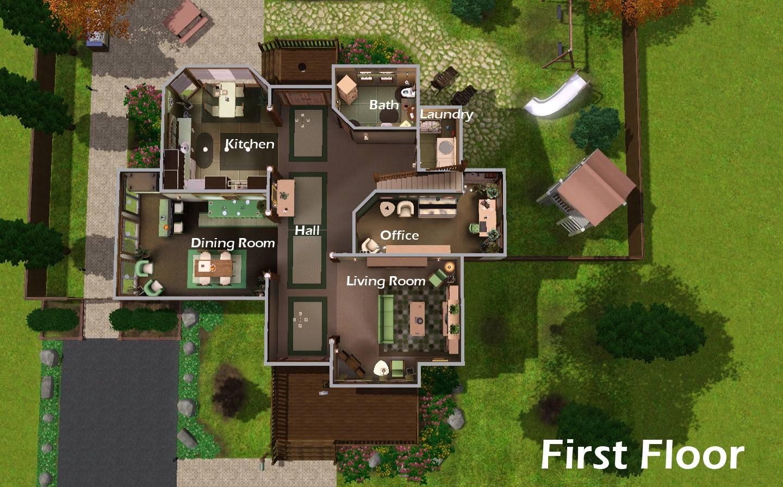 Best Simple Sims Mansion Floor Plans Ideas Building House Plans 156231