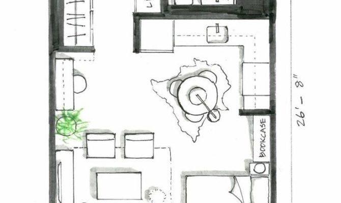 Best Studio Apartment Plan Ideas Pinterest
