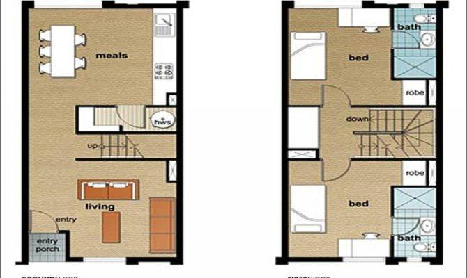 Best Townhouse Designs Floor Plans