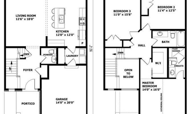Best Two Storey House Plans Ideas Pinterest