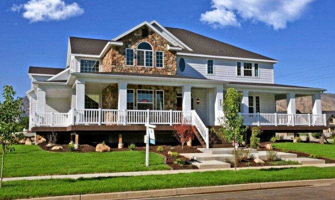 Best Two Story House Plans Wrap Around Porch Blw Danutabois