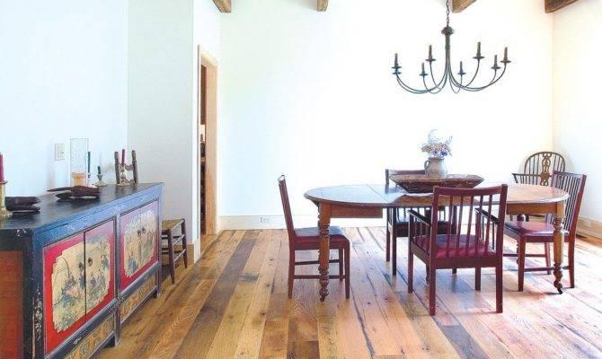 Best Wood Floor Dining Room Rustic Antique Oak