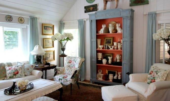 Betsy Speert Blog Country Cottage Living Room