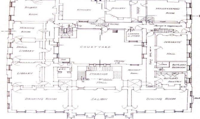 Beverly Hillbillies Mansion Floor Plan Historic Plans
