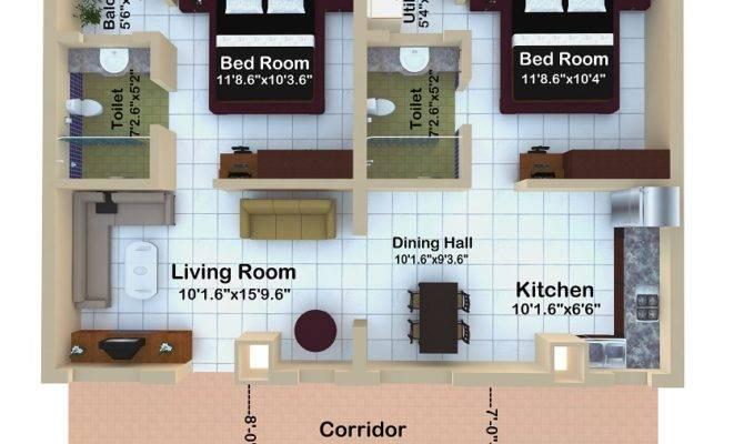 Bhk Floor Plans Best Senior Citizen Apartments