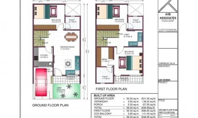 Bhk House Plan North Facing Floor