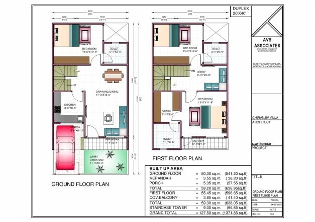 Bhk House Plan North Facing Floor House Plans 177092